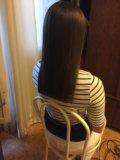 Кератиновое выпрямления волос. Фото 1.