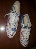 Ботинки нат.кожа 36р. Фото 2.