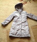 Пальто на 9-10 лет. Фото 2.