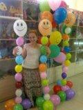 Композиция из шаров. Фото 1.