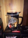 Заварочный чайник с ложечкой. Фото 2.