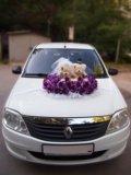 Украшения на свадебный автомобиль,мишки. Фото 1.