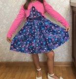 Платье новое !!!! детское.. Фото 1.