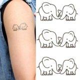 Временные татуировки. Фото 2.