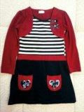 Платье для девочки р-р 116. Фото 1.