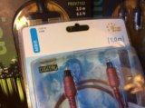 ✅ кабель оптический vivanco 41090 (1 м). Фото 3.