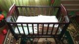 Детская кровать качалка. Фото 1.