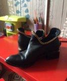 Ботинки кожаные. Фото 2.