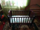 Детская кровать качалка. Фото 2.