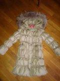 """Пуховик зимний """"kiko"""" на девочку ,рост 134. Фото 1."""