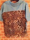 Джинсовая рубаха женская. Фото 1.