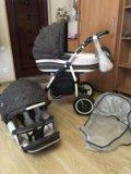 Детская коляска adamex 2 в 1. Фото 3.