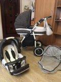 Детская коляска adamex 2 в 1. Фото 4.