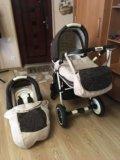 Детская коляска adamex 2 в 1. Фото 2.