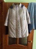 Зимний пуховик  для беременных. Фото 3.