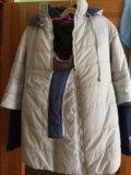 Зимний пуховик  для беременных. Фото 2.