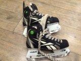 Коньки хоккейные reebok 6k юниорские. Фото 1.