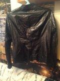 Кожаная куртка р 48-50. Фото 2.