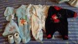 Вещи для малыша пакетом. Фото 3.