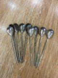 Мельхиоровые ложки. Фото 1.