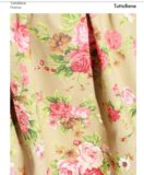 Платье новое трапеция в цветах. Фото 2.
