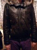 Куртка кожаная с мехом (натуралка). Фото 2.