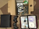 Xbox 360 120gb+(62 игры)+2 джойстика. Фото 2.