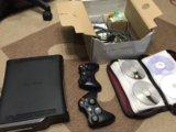 Xbox 360 120gb+(62 игры)+2 джойстика. Фото 3.