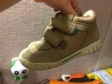 Детский осенние ботинки фирмы ессо. Фото 3.