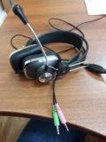 Наушники с микрофоном sven ap-600. Фото 1.