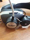 Наушники с микрофоном sven ap-600. Фото 3.