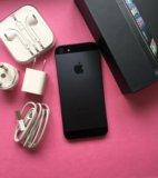 Iphone 5 64gb + новые чехлы и пленки. Фото 4.