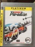 Playstation 3 bornout paradise. Фото 1.