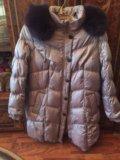 Продаю женское зимнее пальто на р.56. Фото 1.