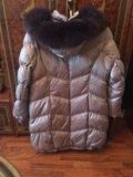 Продаю женское зимнее пальто на р.56. Фото 2.