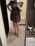 Платье с птичками. Фото 1.