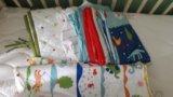 Кроватка гандылян + много принадлежностей!. Фото 4.