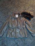 Куртка экокожа размер 48. Фото 1.