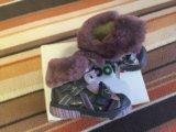 Новые ботинки на шерсти известной фирмы babybotte. Фото 2.