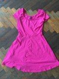 Розовое платье. Фото 1.