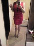 Красное платье. Фото 2.