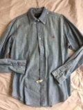 Ralph lauren мужская рубашка б/у размер m/l. Фото 1.