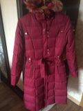Зимний пуховик пальто. Фото 1.