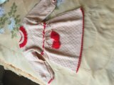 Нарядное трикотажное платье. Фото 1.