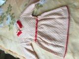 Нарядное трикотажное платье. Фото 3.