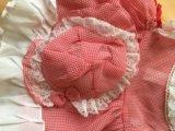 Платье нарядное,легкое с панамкой. Фото 1.