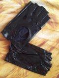 Перчатки кожа. Фото 3.