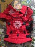 Эргорюкзак гусленок (аркаим красный) универсал. Фото 1.