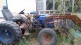 Самодельный трактор. Фото 2.