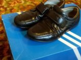 Туфли для мальчика(кожа). Фото 1.